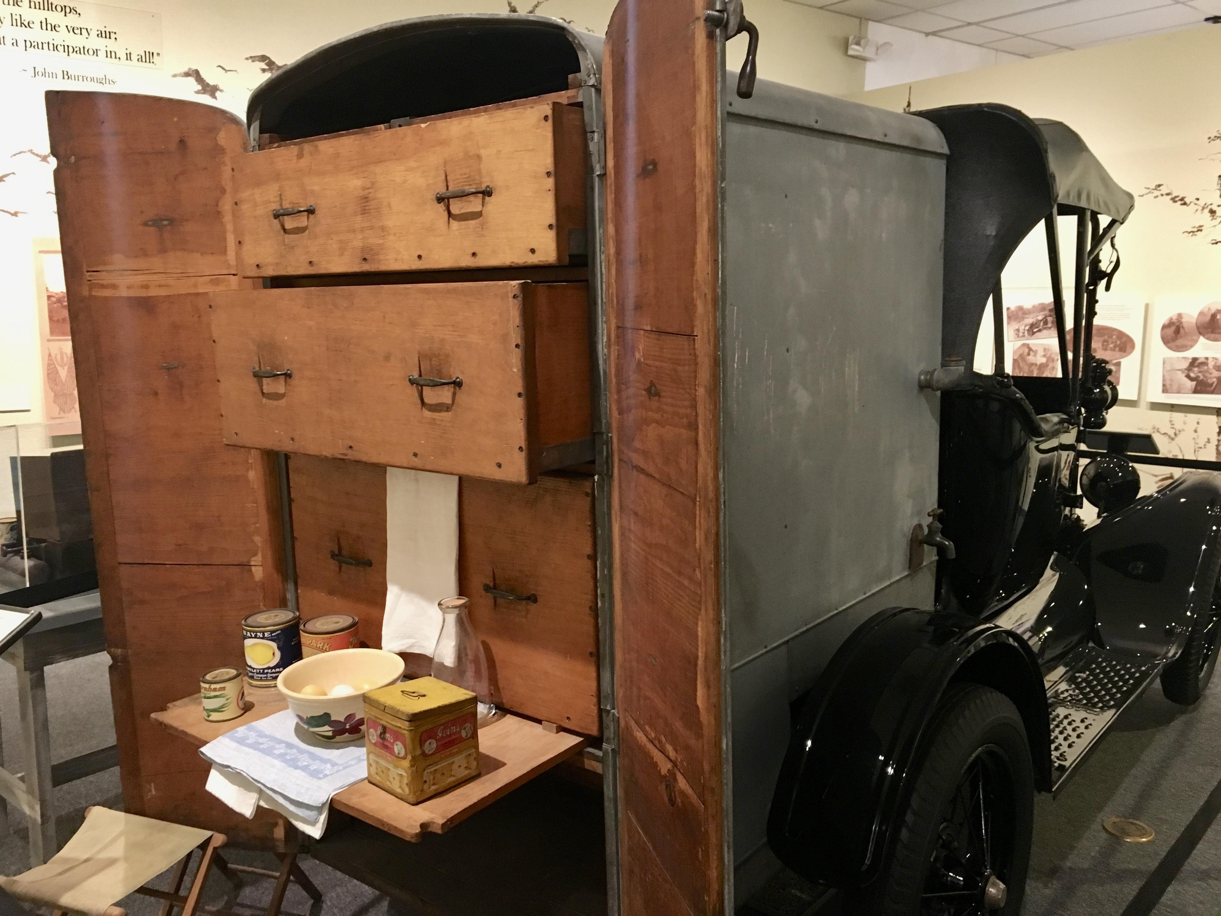 Edison's converted chuck wagon.