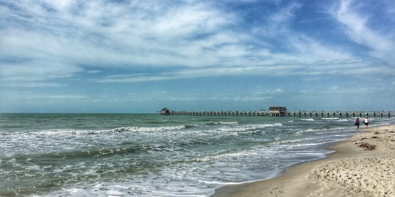 The Naples pier in Florida.